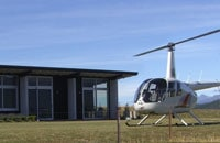 There is space for helicopters to land at Prospect Lodge
