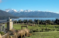 Overlooking Lake Te Anau and Te Anau Golf Course